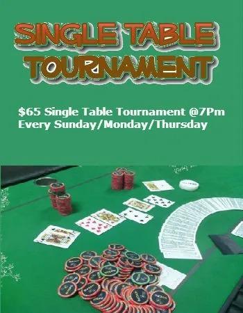 Single Table Tournament