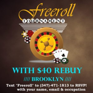 Freeroll Poker Tournament