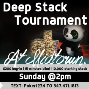 Deep Stack Tournament #347.471.1813