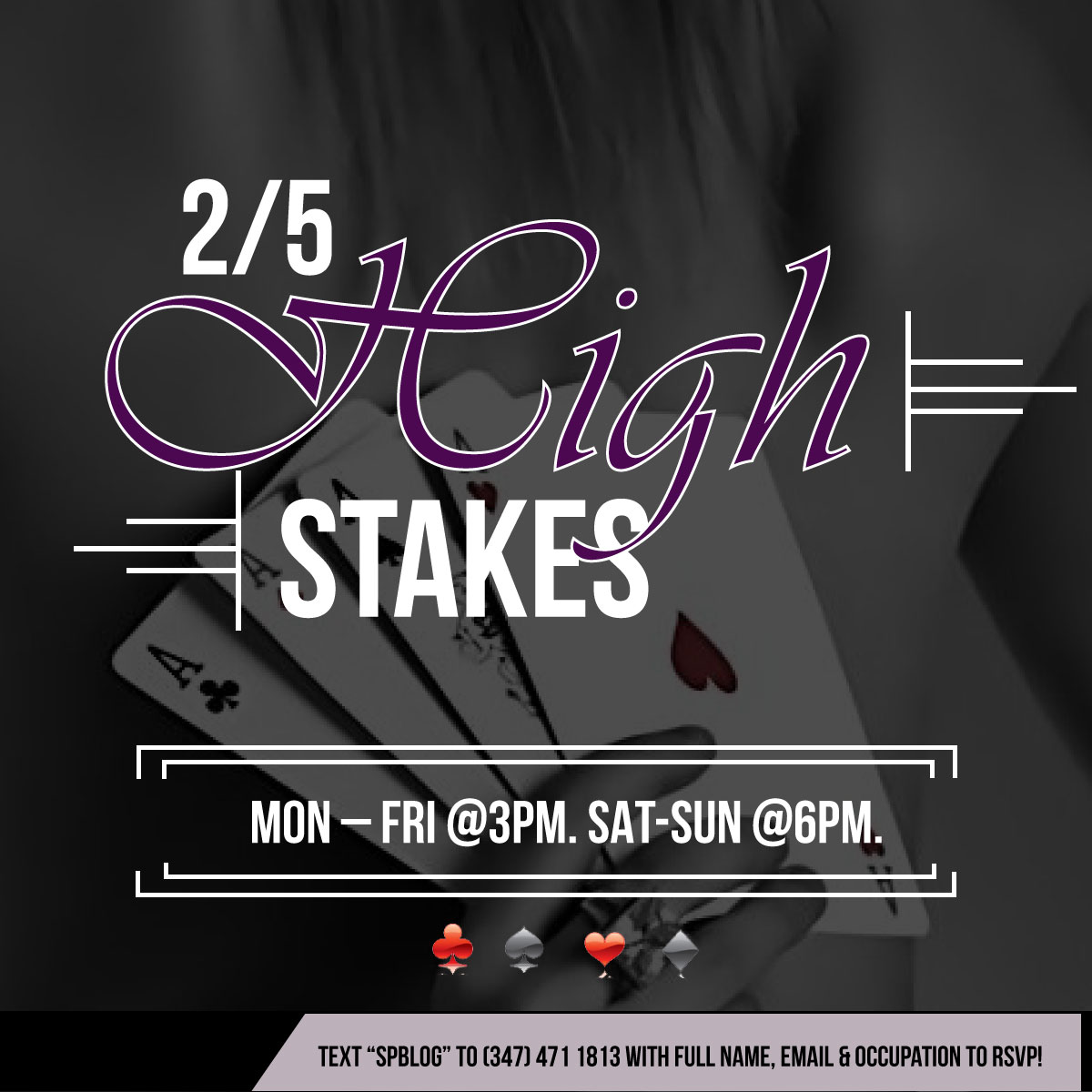High Stakes Poker in Midtown!