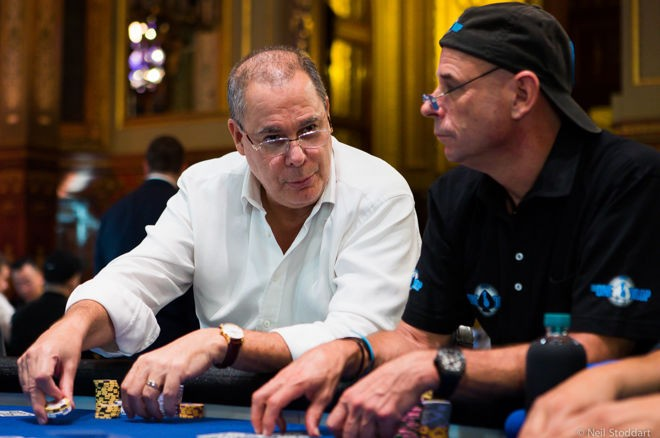 Alfred Decarolis Leads the Worlds Biggest Buy-In Poker Tournament
