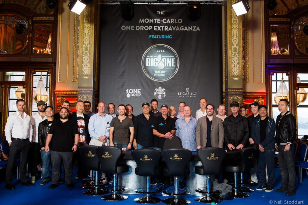 Big One for One Drop Extravaganza €1,000,000 Buy-In Players