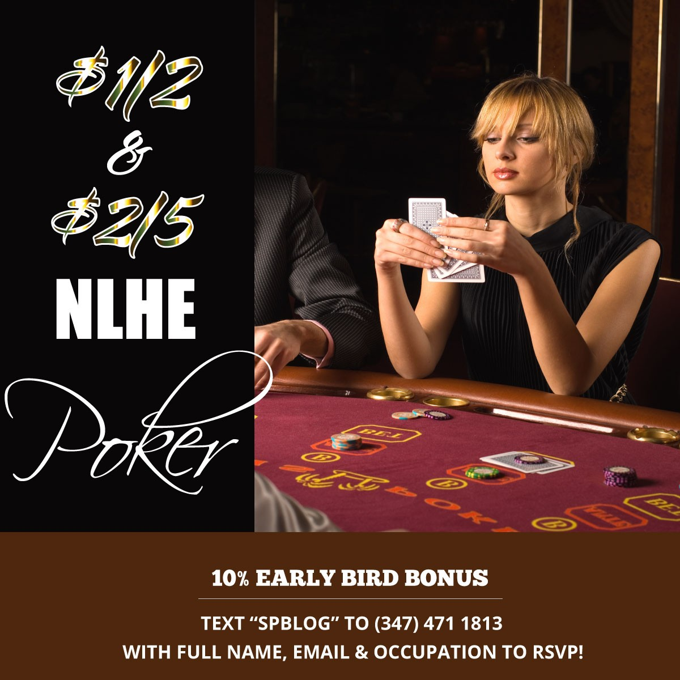 Poker in Midtown, NY