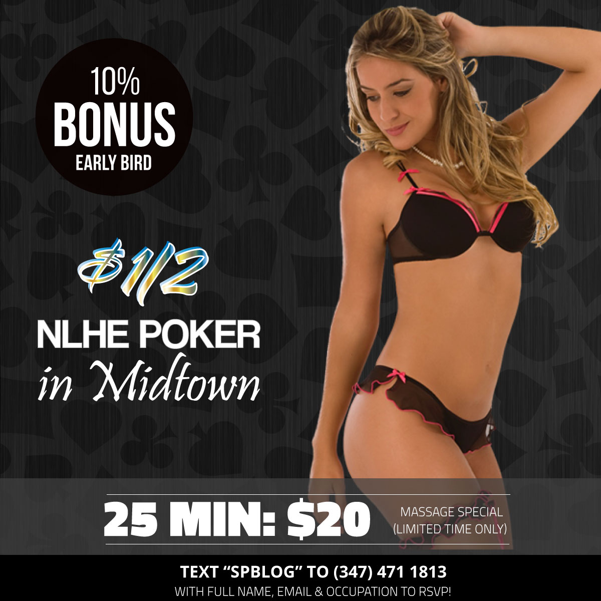 Today's NYC No Limit Holdem Poker Cash Game