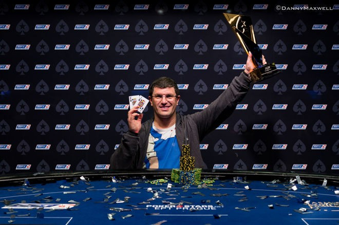 King's Casino Rozvadov owner Leon Tsoukernik wins PokerStars' last EPT Super High Roller in Prague.