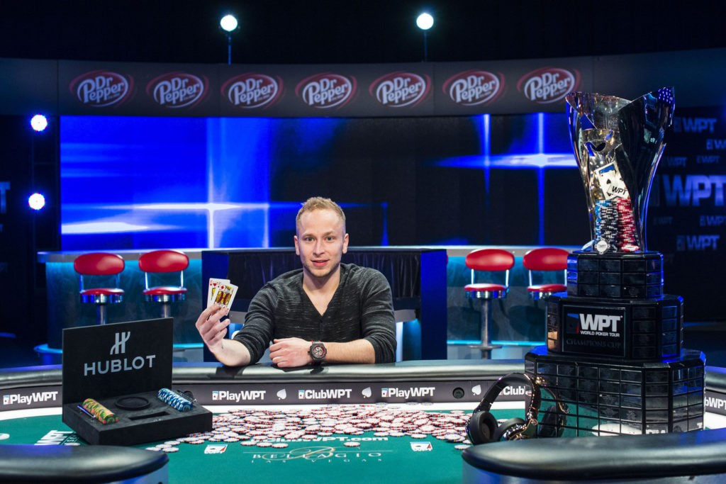 Romero won the WPT Five Diamond World Poker Classic Main Event