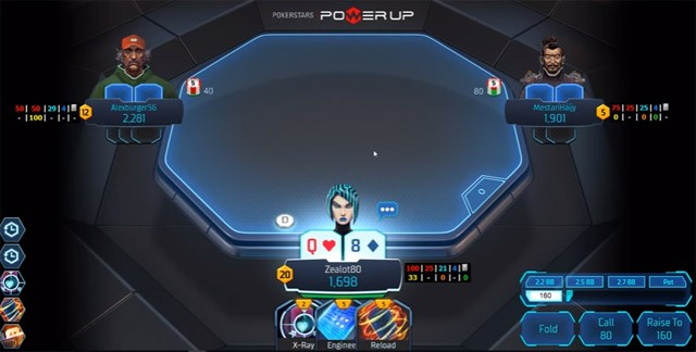 PokerStars Continues to Massage Power Up Alpha