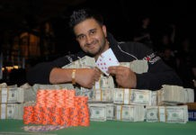 Shankar Pillal Leads Final 23 Player at WPT Bestbet