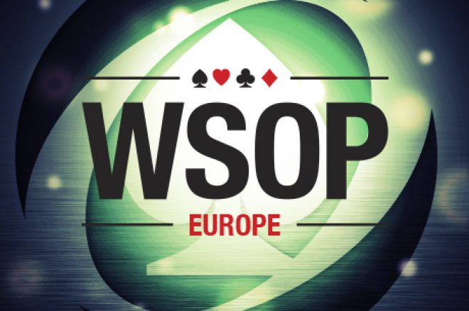 2017 World Series of Poker Europe: Sizeable Day 1C Crowd Brings New Leader to Overall Standings