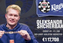 Oleksandr Shcherbak Wins 2017 World Series of Poker Europe Monster Stack