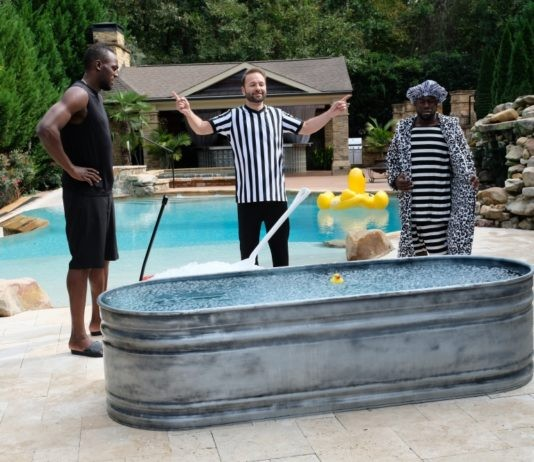Kevin Hart, Usain Bolt Face Off in #GameOn Challenge as Daniel Negreanu Officiates