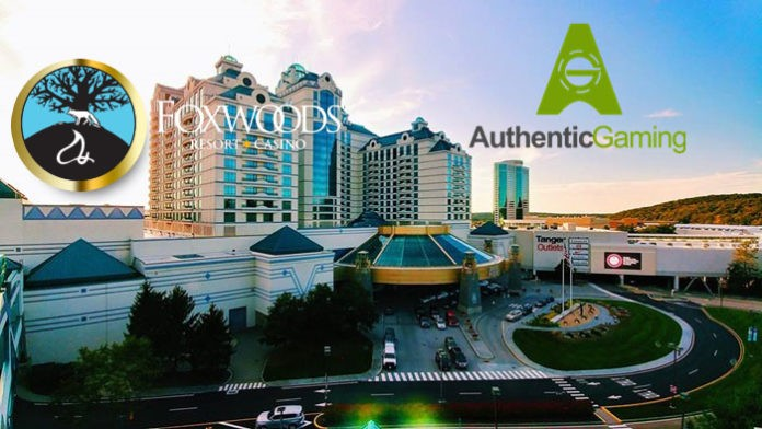 Authentic Gaming and Foxwoods agree live casino partnership