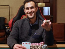 Poker Pro Defeats Field of 887 Entries To Win $259,463 And His First Live Tournament Title