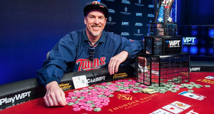 David Larson Wins 2018 World Poker Tour Rolling Thunder Main Event