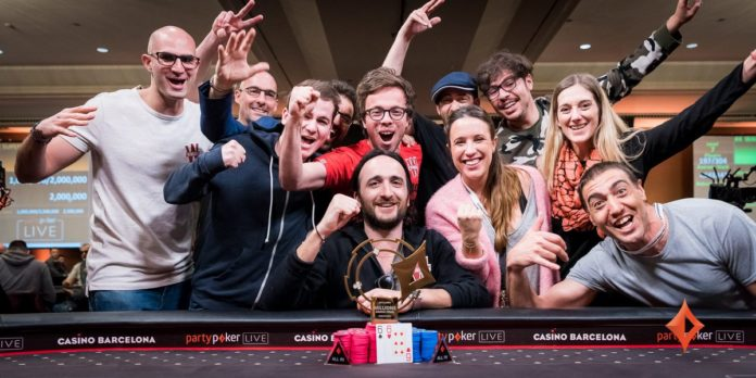 Soon-To-Be Dad Davidi Kitai Wins €25K SHR Title in Barcelona