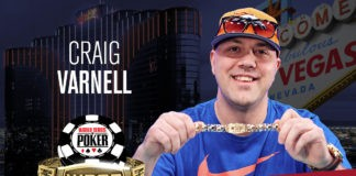 Craig Varnell Tops 2,419-Strong Field in 2018 WSOP $565 Pot-Limit Omaha